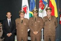 Câmara participa das comemorações dos 244 anos da Polícia Militar de Minas Gerais