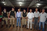 Odinaldo e Pedrinho vão a palestra sobre segurança rural