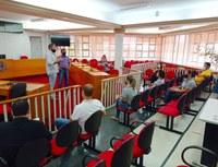 Presidente Edivalder Cheiroso reúne com servidores da Câmara