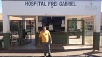 Rapinha pede mais oftalmologistas no Frei Gabriel