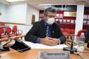Vereador Fernando solicita instalação de poste de iluminação em via pública